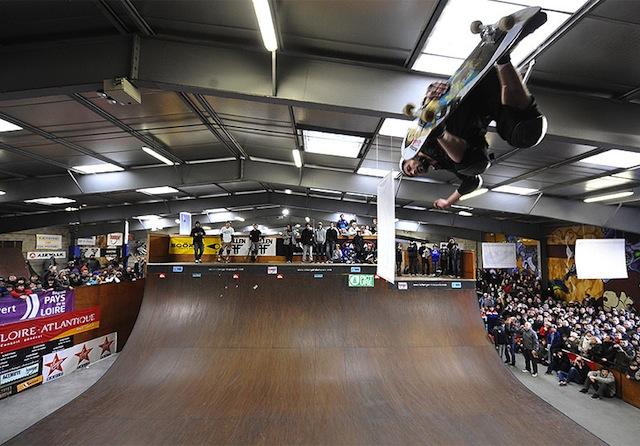 Skatepark nantes le hangar skate france tout le - Location hangar nantes ...