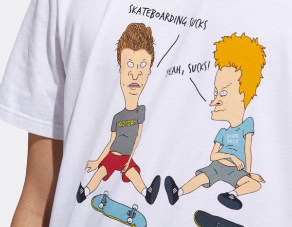 T-Shirt adidas Beavis & Butthead