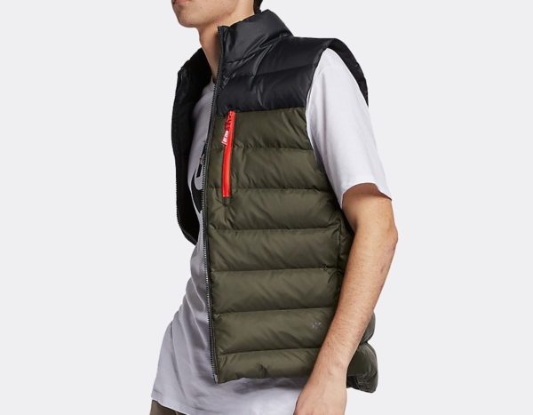 Nike SB Down Vest Black Sequoia