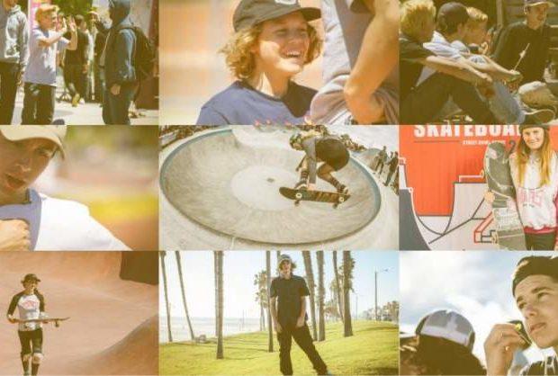 sélection française skateboard JO 2020